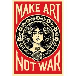 Obey - MAKE ART NOT