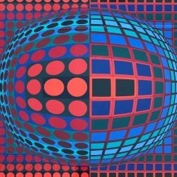 Victor Vasarely - Vega-Wa